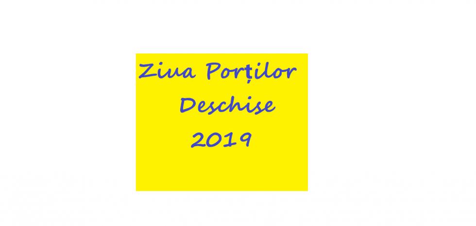 17 mai 2019: ZIUA PORȚILOR DESCHISE