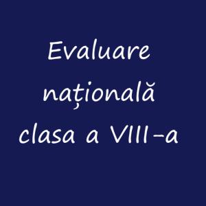 Cerere contestații la Examenul de Evaluare Naționala VIII 2020