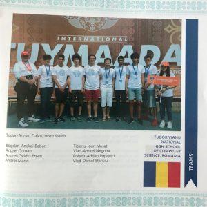 Olimpiada Internaţională Pluridisciplinară din Tuymaada Yakuția
