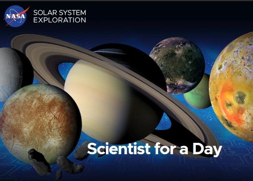 """Concursul NASA """"Scientist for a Day"""""""