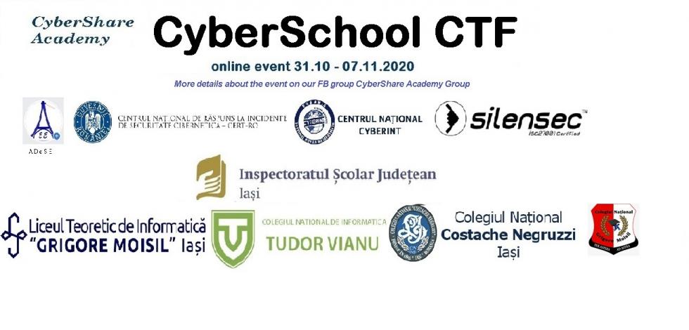 CyberSchool CTF